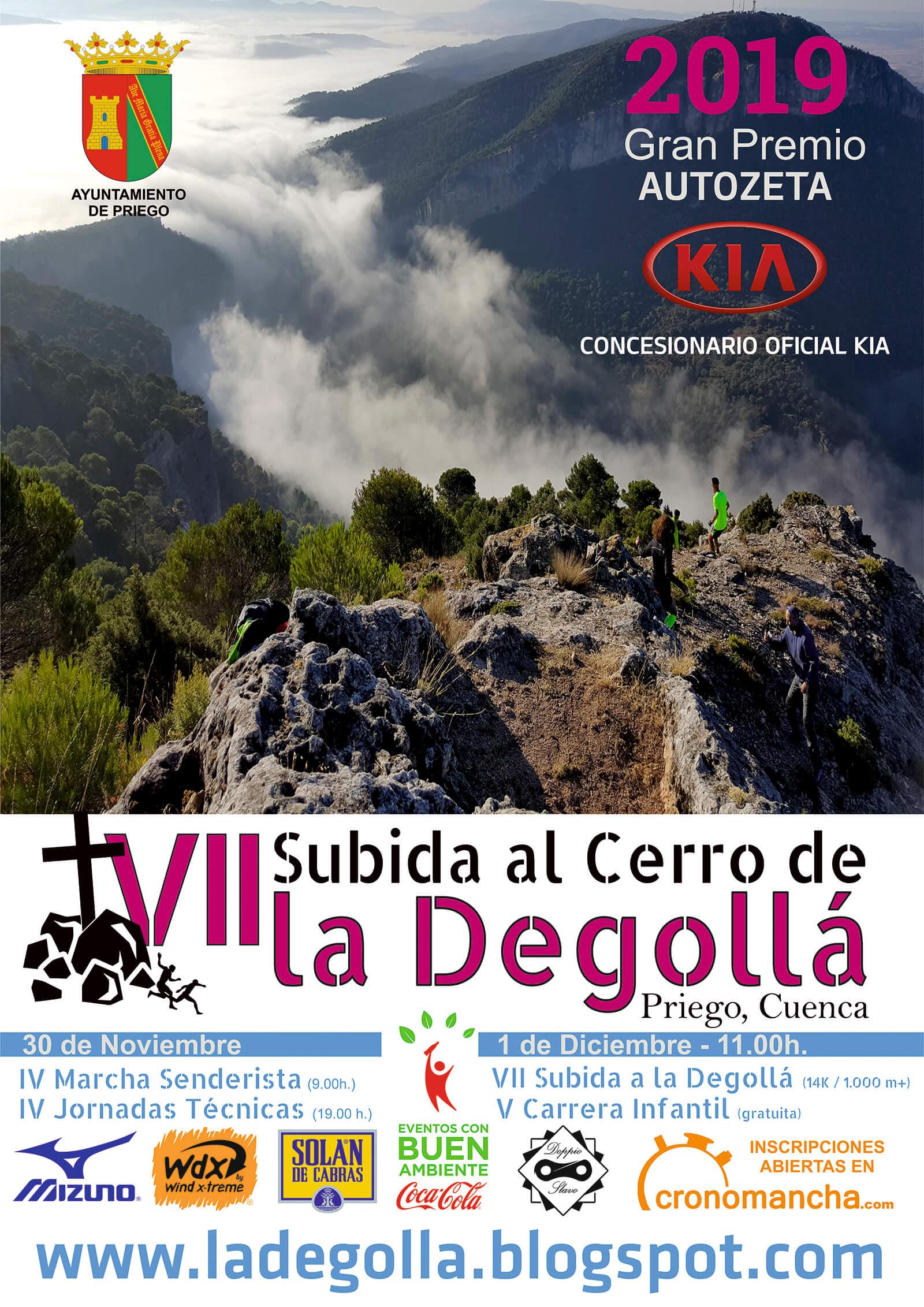 Subida al Cerro de la Degollá en Priego (Cuenca) - 01/12/2019