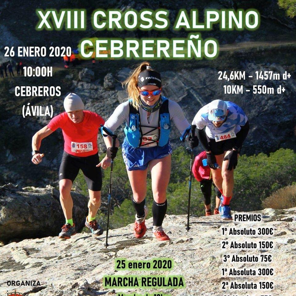 Cross Alpino Cebrereño en Cebreros (Ávila) - 26/01/2020