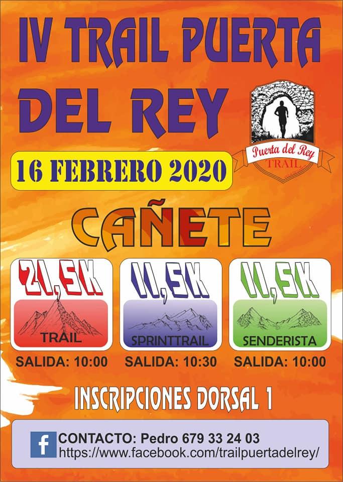 Trail Puerta del Rey en Cañete (Cuenca) - 16/02/2020