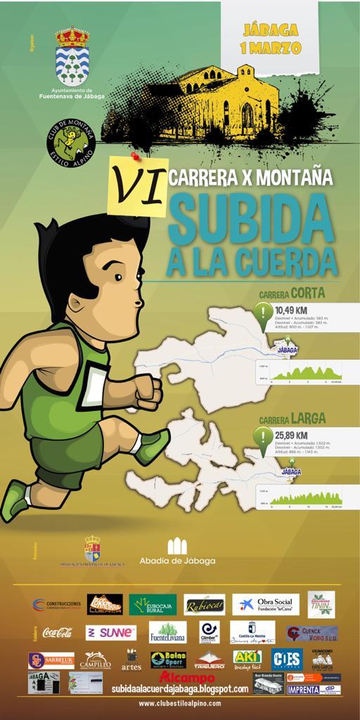 CxM Subida a la Cuerda en Jábaga (Cuenca) - 01/03/2020