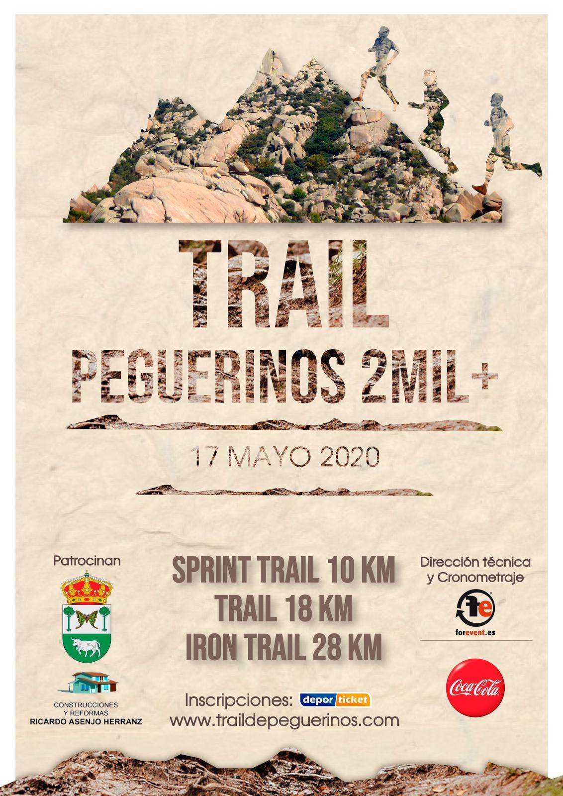 Trail Peguerinos en Peguerinos (Ávila) - 17/05/2020